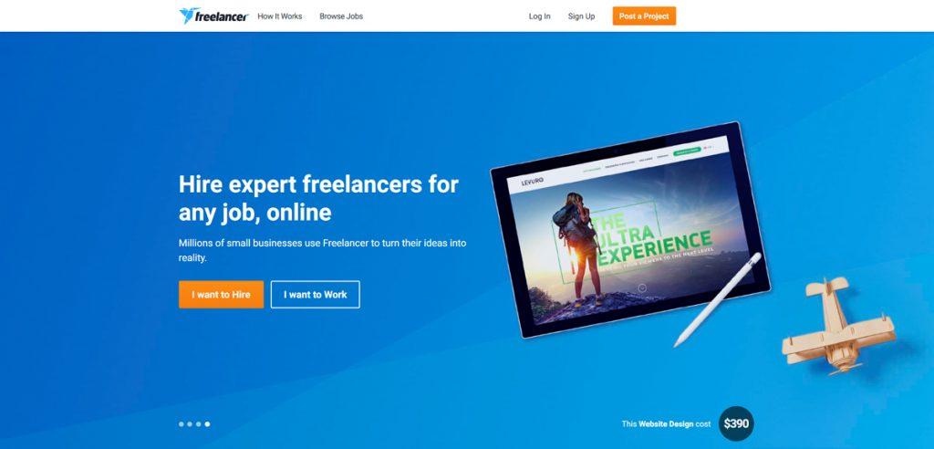 معرفی سایت  freelancer.com